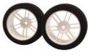 101501 1/10 26mm FR white wheel 35sh Italian foam