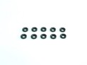 103337 Washer M3 conical alu Black (10)