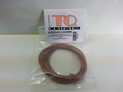106 TQ Superflex II 18ga. Leadwire 10' Clear – TQ106