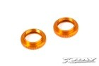 308042-O Alu Shock Adjustable Nut - Orange (2)