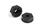 335255 Strong composite wheel hubs. Set of ( 2)