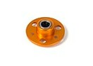 335530-O NT1 Alu Drive Flange with One-Way Bearing - 7075 T6 - Orange