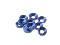 69250 Hiro Seiko 3mm Alloy Countersunk Washer Y-BLUE (10)