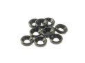 69253 Hiro Seiko 3mm Alloy Countersunk Washer BLACK (10)