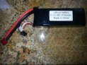 BAT3 2700MH LIPO BATTERY 3 CELL, 11.1, 35C
