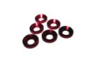 JQA035 M4 COUNTERSUNK WASHER 10PCS (RED)