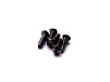 69870 Hiro Seiko Aluminum Alloy 3X8 Hex Socket Button Head Screw (5) BLACK