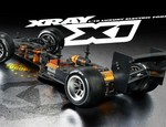 RC Car X Xray F1 X1 1/10 Electric Parts