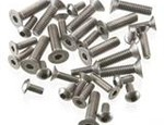 RC Car Screws Titanium & Alum & Steel & Set Screws