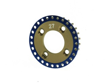 22010 NT-1 Aluminum 7075 Differential Pulley 27T Front (AP-22010)